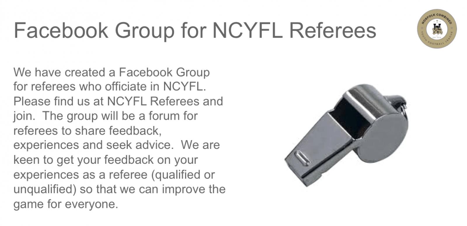 Facebook Referees