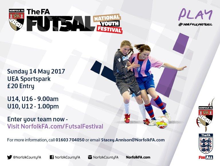 Norfolk FA - Futsal Festival